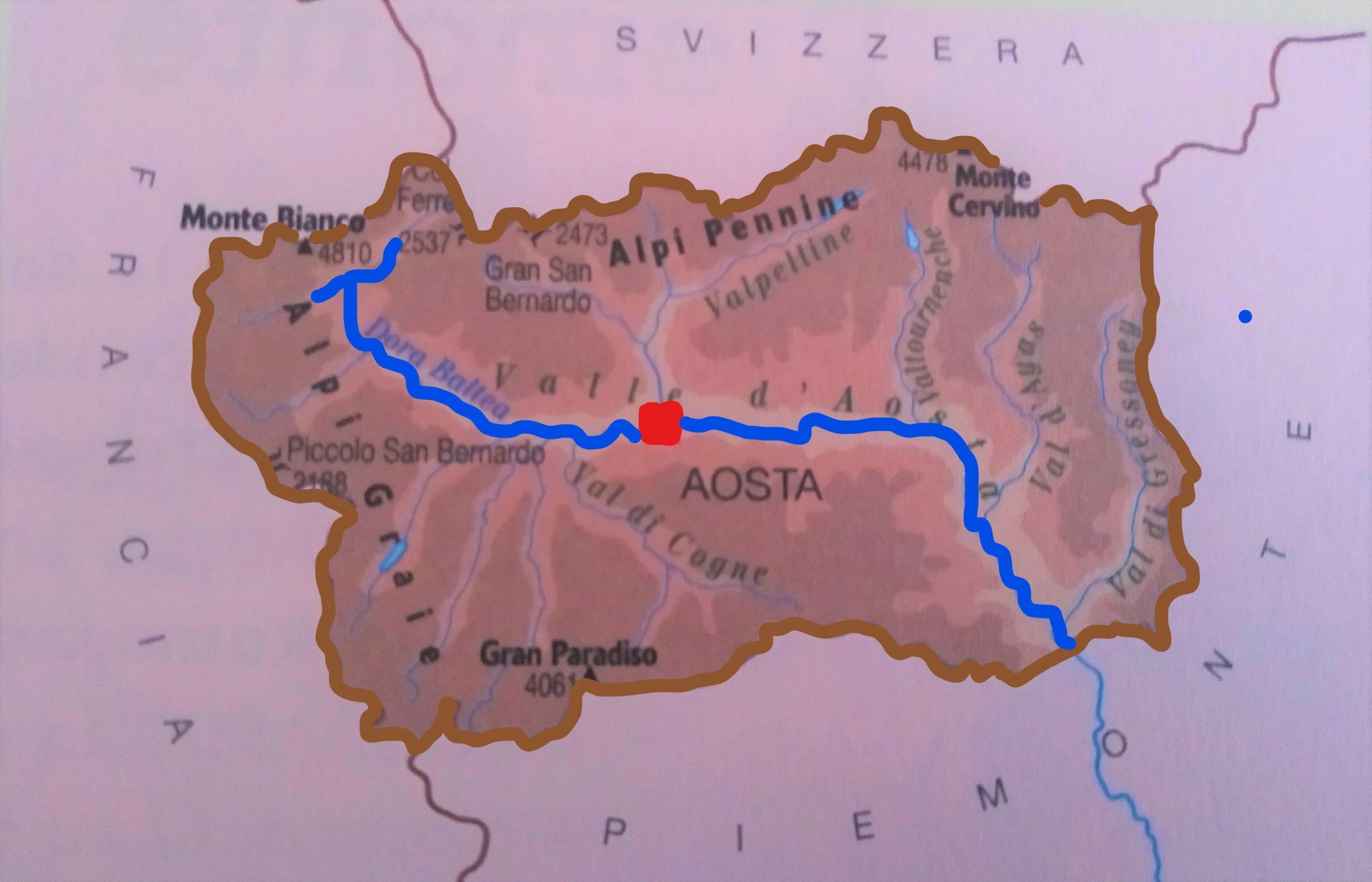 Cartina Della Valle D Aosta Da Stampare.Videolezione Valle D Aosta Geografia Le Regioni Pillole Di Conoscenza