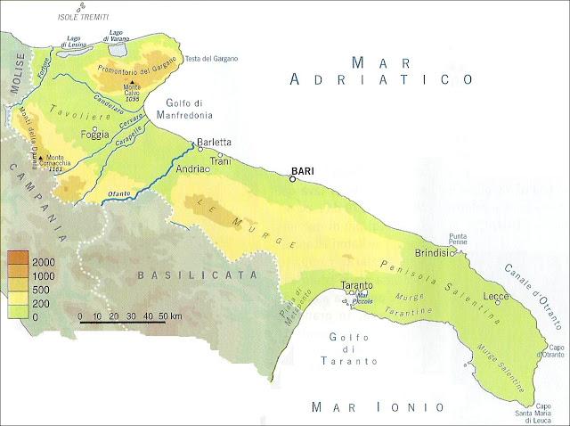 Cartina Geografica Fisica Puglia.Videolezione Puglia Geografia Le Regioni Pillole Di Conoscenza